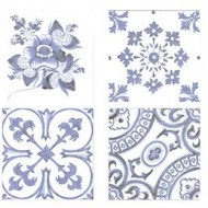 FABRESA BLANCO DECOR OPORTO 15X15