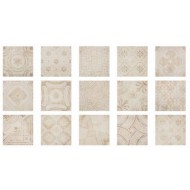 FABRESA COMTE BEIGE DECOR MIX 15X15 MATE