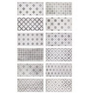 FABRESA VITA NEBBIA DECOR MIX 10X20 BRILLO