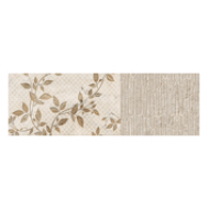 BALDOCER DECORADO SET SAMOA IVORY SATINADO 28X85