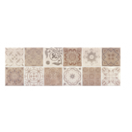 BALDOCER MOSAICO ANTIQUE TAUPE MATE 30X90