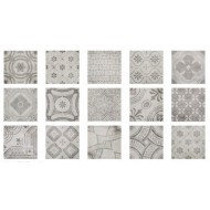 FABRESA COMTE GRIS DECOR MIX 15X15 MATE